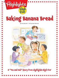Cover for Baking Banana Bread