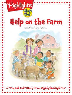 Cover for Help on the Farm
