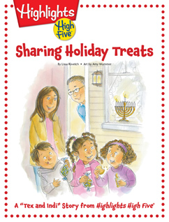 Cover for Sharing Holiday Treats