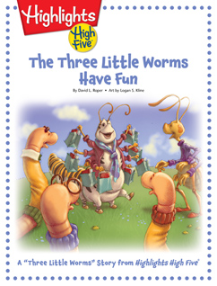Cover for The Three Little Worms Have Fun