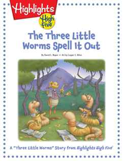 Cover for The Three Little Worms Spell It Out