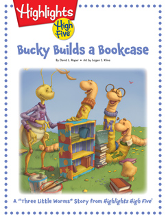 Cover for Bucky Builds a Bookcase