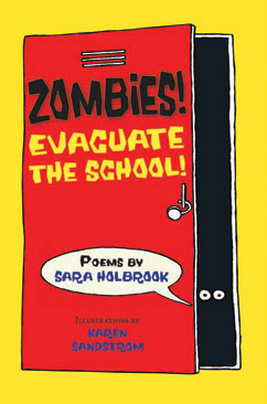 Cover for Zombies! Evacuate the School