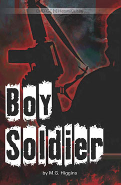 Cover for Boy Soldier