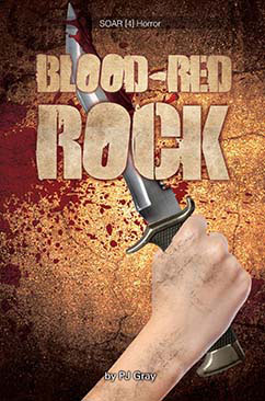 Cover for Blood-Red Rock