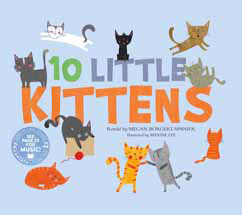 Cover for 10 Little Kittens