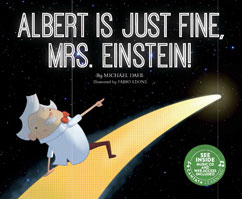 Cover for Albert Is Just Fine, Mrs. Einstein