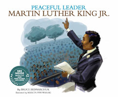 Cover for Peaceful Leader: Martin Luther King Jr.