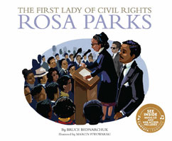 Cover for The First Lady of Civil Rights: Rosa Parks
