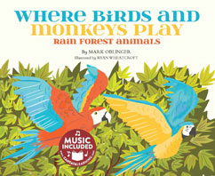 Cover for Where Birds and Monkeys Play