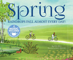 Cover for Spring: Raindrops Fall Almost Every Day!