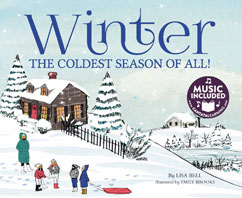Cover for Winter: The Coldest Season of All!