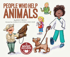 Cover for People Who Help Animals