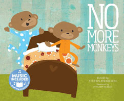 Cover for No More Monkeys