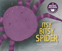 Cover for Itsy Bitsy Spider