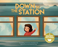 Cover for Down By the Station