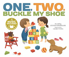 Cover for One, Two, Buckle My Shoe