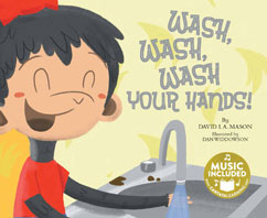 Cover for Wash, Wash, Wash Your Hands!