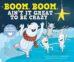 Cover for Boom, Boom, Ain't It Great to Be Crazy