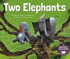 Cover for Two Elephants