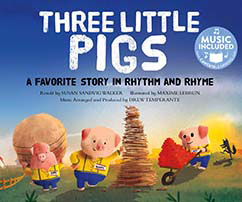 Cover for Three Little Pigs