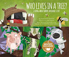 Cover for Who Lives in a Tree?