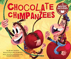 Cover for Chocolate Chimpanzees