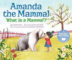 Cover for Amanda the Mammal