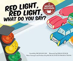 Cover for Red Light, Red Light, What Do You Say?