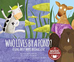 Cover for Who Lives by a Pond?