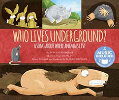 Cover for Who Lives Underground?