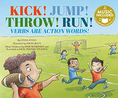 Cover for Kick! Jump! Throw! Run!
