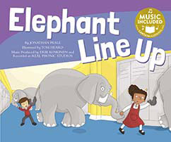 Cover for Elephant Line Up
