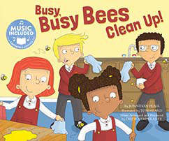 Cover for Busy, Busy Bees Clean Up!