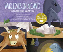 Cover for Who Lives in a Cave?