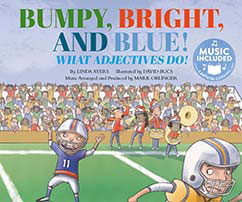 Cover for Bumpy, Bright, and Blue