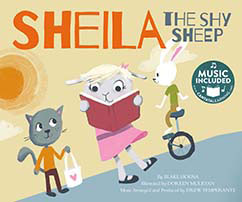Cover for Sheila the Shy Sheep