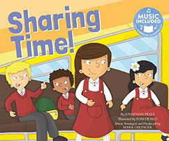 Cover for Sharing Time!