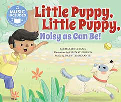 Cover for Little Puppy, Little Puppy, Noisy as Can Be!