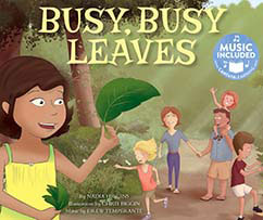 Cover for Busy, Busy Leaves