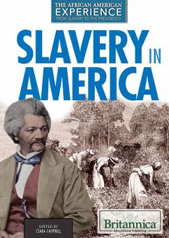 Cover for Slavery in America