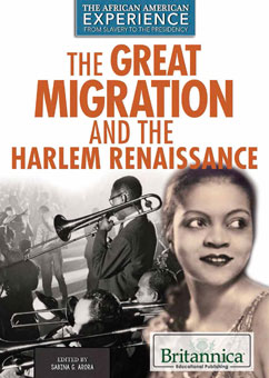 Cover for The Great Migration and the Harlem Renaissance
