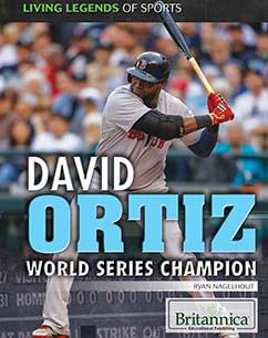 Cover for David Ortiz: World Series Champion