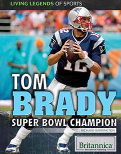 Cover for Tom Brady: Super Bowl Champion