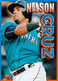 Cover for Nelson Cruz
