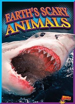 Cover for Earth's Scary Animals