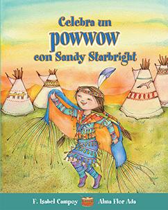 Cover for Celebra un powwow con Sandy Starbright