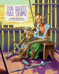 Cover for Don Quijote para siempre