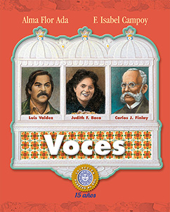 Cover for Voces