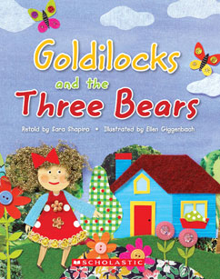 Cover for E-Mouse Goldilocks & the 3 Bears